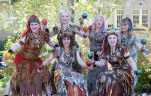 We've been known to perform at the Halloween Hafla as the Wild Women of Wongo! Come to the show on Oct. 29 and see!