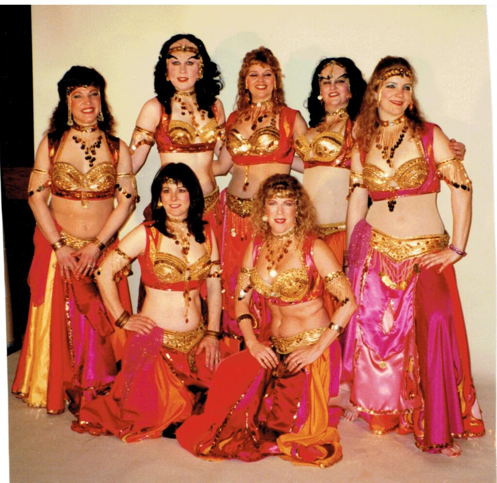 Group of dancers posed